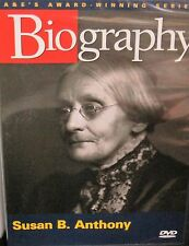 Biography: Susan B. Anthony DVD History Civil Rights Voting A & E Award Winning
