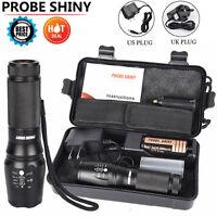 G700 6000LM Flashlight  T6 LED 18650 26650 Flashlight Torch Lamp Light Set