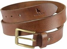 Leather Belt HIDE and SKIN Pull the buckle out suitable for any occasion Men