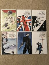 ***James Bond 007 BLACK BOX 1-6  Complete Comic Lot/Run/Set*** NM+ Percy/Lobosco