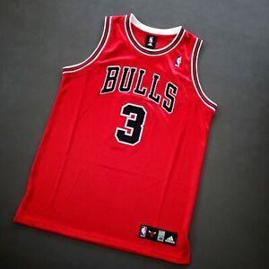 100% Authentic Ben Wallace Adidas Bulls Jersey Size 44 L XL Mens