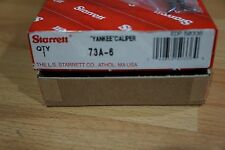 "Starrett / Solid Nut Inside Spring Caliper, Flat Leg, 6"" / No. 73A-6"
