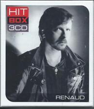 Renaud Hit Box Coffret 3 CD Neuf sous cellophane