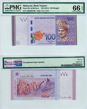 Malaysia $100 P#56 (2012) PMG 66 EPQ