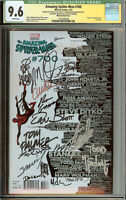 Amazing Spider-Man #700 Skyline Variant CGC 9.6 Stan Lee, McFarlane Signed 26x