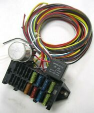 8 Circuit Basic Wire Harness Fuse Box street hot rat rod wiring car truck 12v
