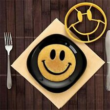 Mold Smile Face Silicone DIY Breakfast Ring Shape Kitchen Gadgets Tool Pancake