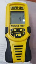 STRAIT-LINE Rolling Digital Measuring Tape 300ft