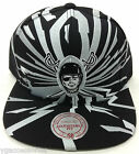 "NFL Oakland Raiders ""Earthquake"" Mitchell and Ness Snapback Vintage Hat Cap M&N"