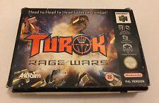 Turok: Rage Wars N64 Nintendo 64 Complete UK PAL