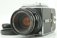 【N MINT】 Hasselblad 500CM C/M + CF 80mm f/2.8 LENS + A12 II w/ Strap From Japan