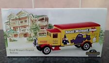 Models of Yesteryear Ronald McDonald House 1932 Mercedes-benz L5 Van Die Cast