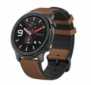 Xiaomi Amazfit GTR 47 mm Smart Watch GPS en aluminium Noir