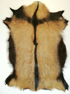 XLarge Genuine Serbian goat skin rug-goat hide Super fine from Nature