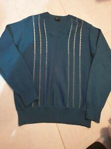 Gabicci Italian Knit Sweater Jumper Mens Size Medium