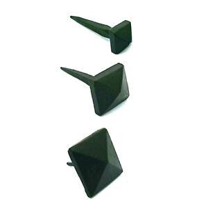"1/2"", 3/4"", 1"" Pyramid Door Stud Hand Forged Blacksmith Hammered Door-Stud Iron"