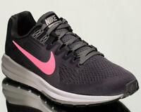 Nike Wmns Air Zoom Structure 21 women running sneakers NEW gunsmoke 904701-004