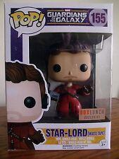 Funko Pop!: Marvel #155 Star-Lord (Mixed Tape) Box Lunch Excl. [Near Mint/NIB]