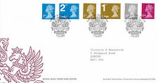 17 FEBRUARY 2009 ALL 6 ENGLAND DEFINITIVES ROYAL MAIL FIRST DAY COVER WINDSOR