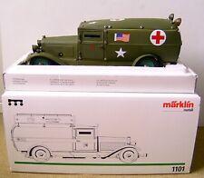 MÄRKLIN 1101 ★★★  modifiziert als US ARMY Ambulance Krankenwagen ★★★  OVP