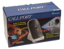 Coherent Call Port VoIP Echo Canceling PC Speakerphone Skype Duplex Adapter NEW