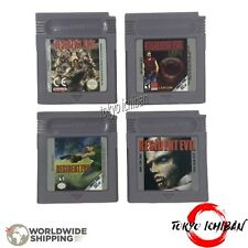 Jeu Nintendo Game Boy Color - Resident Evil Gaiden & RE1 / GBC - GBA SP - DMG 01
