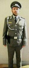 NVA Uniform  Schirmmütze Fasching Karneval Ostalgie ähn.Wehrmacht  Gr. 52  DDR