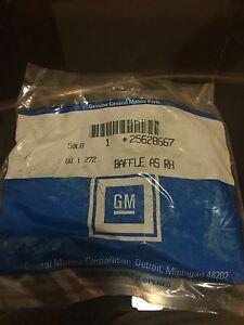 GM PART # 25628667 OLDSMOBILE AURORA RADIATOR SUPPORT BAFFLE LH *NEW IN BOX*