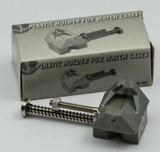 Soporte para caja de reloj movimiento de herramientas de reparación de acción de resorte Abrazadera de tornillo Relojeros Nuevo