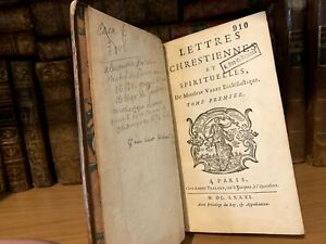 1681 CHRISTIAN AND SPIRITUAL LETTERS