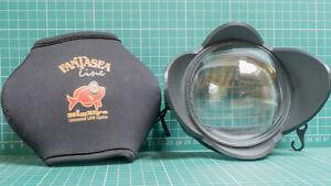 Fantasea Big Eye  Underwater Wide Angle Lens for Canon Power Shot G11 & G12