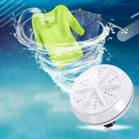 Waschen Waschmaschine Waschmaschine Tragbare Rotierende Ultraschall Turbine K6S7
