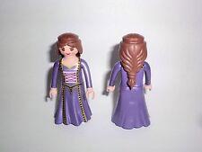 Playmobil 1x Frau Dame Königin Prinzessin Kleid braune Haare Traumschloss 6848