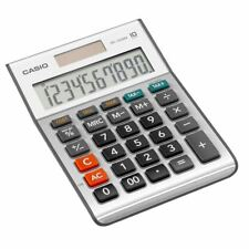 Casio MS100BM-S 10 Digit Desk Solar Profit Tax Calculation Calculator MS100 New