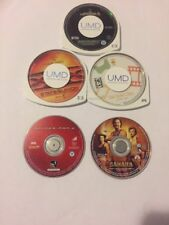 5 Movie Psp Lot- Spider-Man 2, Sahara, XXX: State Of The Union