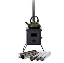 Outbacker Fire Box Poêle à Tente - Noir