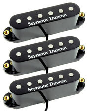 Seymour Duncan STK-S4 Classic Stack Plus Single Coil Strat 3 Pickup Set, Black