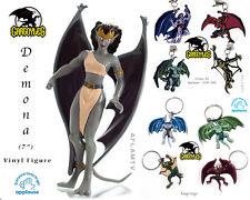Gargoyles Disney Demona Figure 4 clip-on Applause Demon Goliath 4 Keyrings