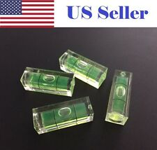 4Pcs10x10x29mm Universal VIAL Square Bubble Spirit Level Tripod Measuring Camera