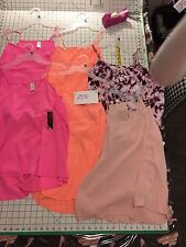 #2570 *BRAND NEW*BACK TO SCHOOL*FREE SHIPPING*LOT OF 6 Camisoles Size XL 15-18