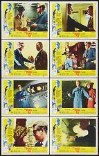 THE IPCRESS FILE original 1965 lobby card set MICHAEL CAINE Excellent Shape