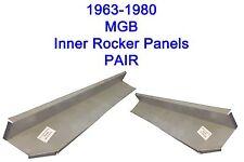 1963-80 MGB  INNER ROCKER PANELS    ...NEW PAIR! FREE SHIPPING!!