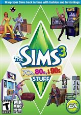 PC GAME THE SIMS 3 70'S 80'S AND 90'S STUFF BRAND NEW & FACTORY SEALED