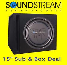 "Soundstream 15"" Auto Audio Lautsprecher Hohe Energie Subwoofer Portierte Box"