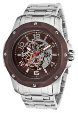 New Mens Invicta 16124 Specialty Skeleton Dial Mechanical Hand Wind Watch