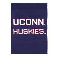 University of Connecticut Garden Flag NCAA College UCONN Jonathan the Huskie