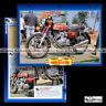 #401.40 Fiche Moto HONDA CB 350 FOUR 1972-1974 Classic Bike Motorcycle Card