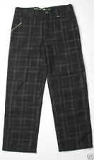 Hurley Kids Plaid Pant (20) Black