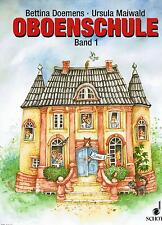 Oboe Noten Schule : Oboenschule Band 1 (Doemens Maiwald) Anfänger ED8161