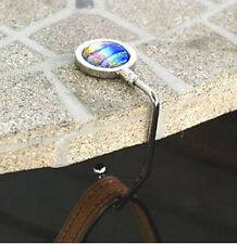 PURSE HANGER **AUTHENTIC AANRAKU** CLEAR GLASS CIRCLE INCLUDED